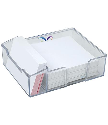 Notizblock-Box aus Acryl
