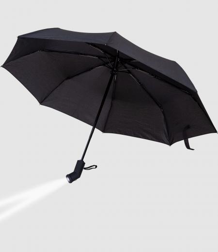 Regenschirm mit Integrierter Taschenlampe  Bell